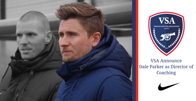 VSA Announce Dale Parker as Director of Coaching