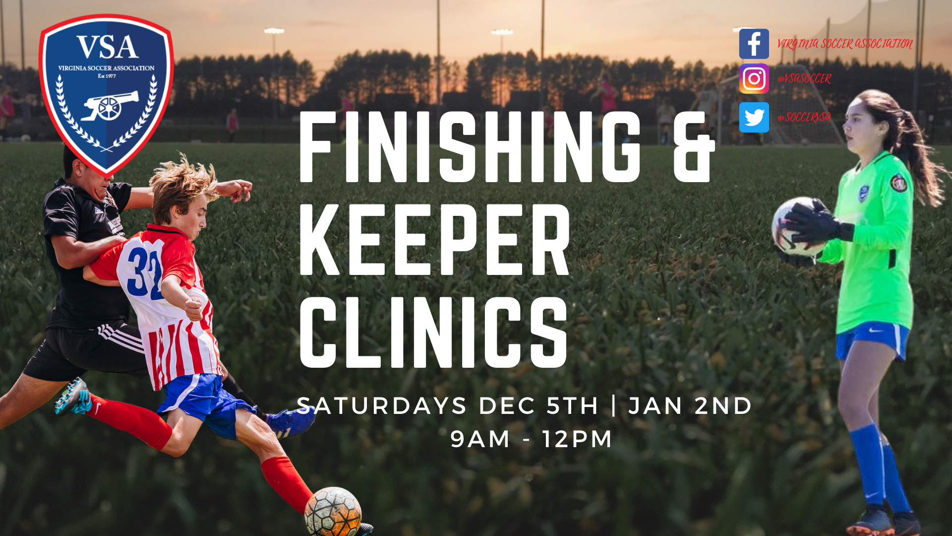 VSA Winter Finishing and Keeper Clinic
